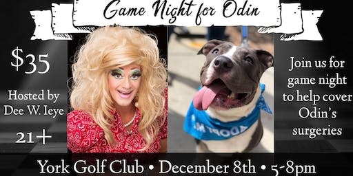 Adult Game Night for Odin
