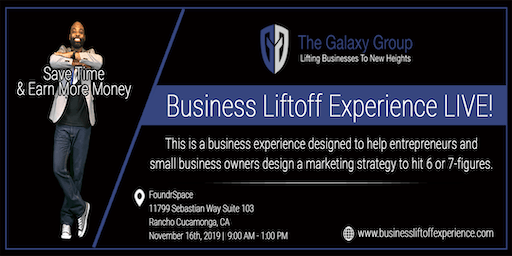 Business Liftoff Experience LIVE!
