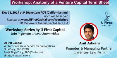 Workshop: Anatomy of a Venture Capital Term Sheet