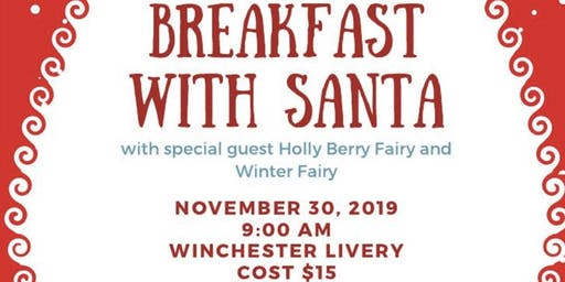 Breakfast with Santa (and friends)