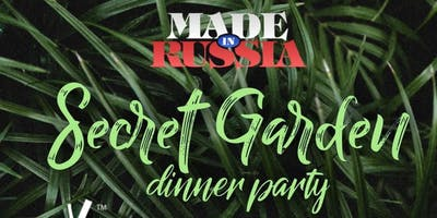 MIAMI MADE in RUSSIA DINNER PARTY November 30 @NIKI BEACH SECRET GARDEN