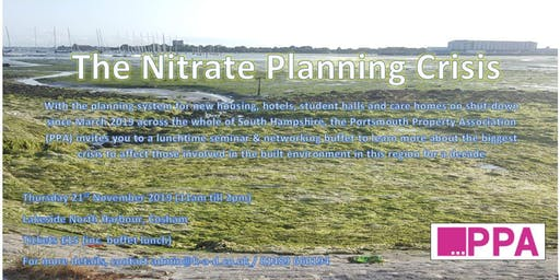 The South Hampshire 'Nitrate Crisis' and the halt on the planning system