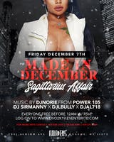 """Made In December the official sagittarius affair'"