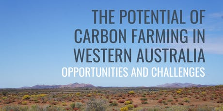 Seminar on the potential of carbon farming in Western Australia tickets