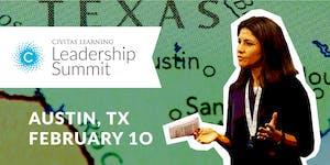 Civitas Learning Leadership Summit - Austin, TX