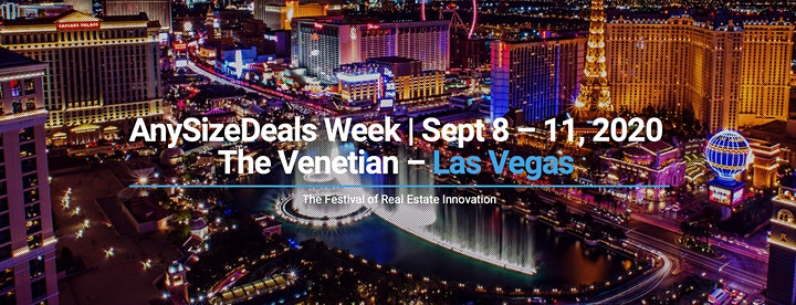 AnySizeDeals Week 2020 - Real Estate PropTech Conference in Las Vegas image