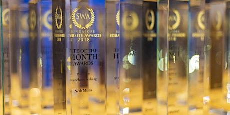 Singapore Website Awards 2019 - Awards Presentation Ceremony tickets