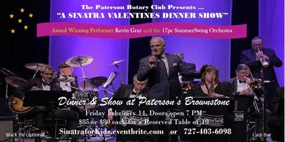 A Sinatra Valentine's Day Dinner Show - Fly Me to the Moon
