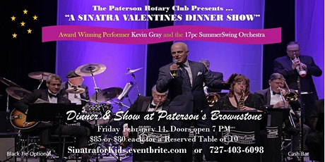 A Sinatra Valentine's Day Dinner Show - Fly Me to the Moon tickets