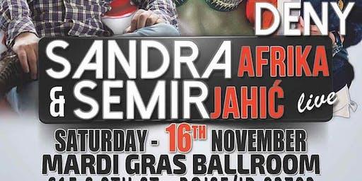 Sandra Afrika & Semir Jahic Boise ID 16 NOV