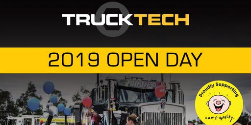 Truck-Tech Group 2019 Open Day - Proudly Supporting Camp Quality