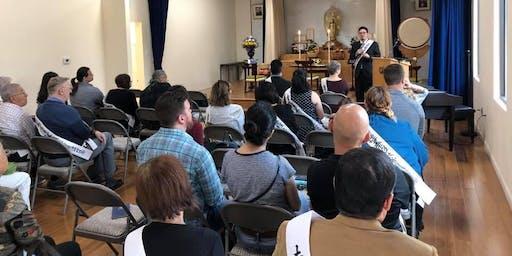Sunday Service and Hoza (Circle of Compassion)