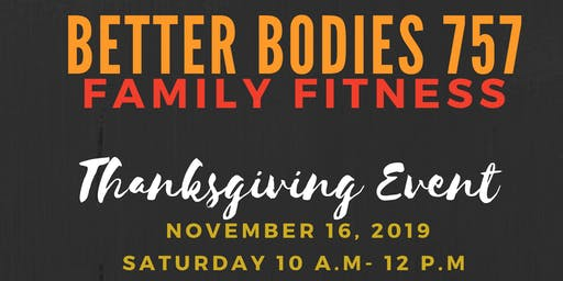 Free Thanksgiving Family Fitness