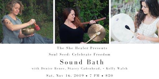 Sound Bath: Celebrate Freedom