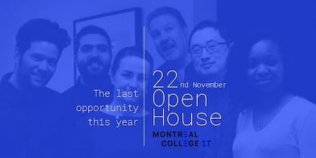 Montreal's Information Technology Open house tickets