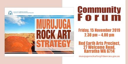 Murujuga Rock Art Community Forum