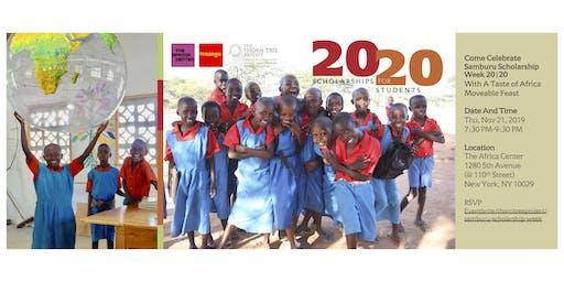 Samburu Scholarship Week 20 20 - A Taste of Africa Moveable Feast