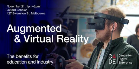 Augmented and Virtual Reality: The Benefits for Education and Industry tickets