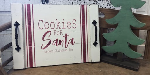 Cookie for Santa Trays
