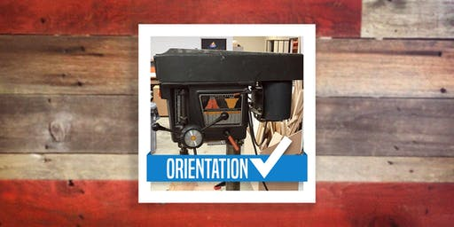 Woodshop Orientation (Router, Jointer, Drill Press)