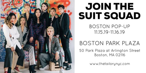 THE TAILORY NEW YORK : CUSTOM SUIT POP-UP