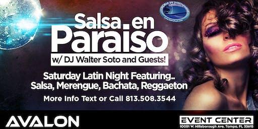 """Salsa en Paraiso"" Latin Night FREE COVER til 11PM Registration"