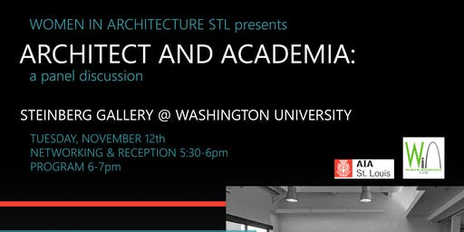 Architect and Academia: A Panel Discussion