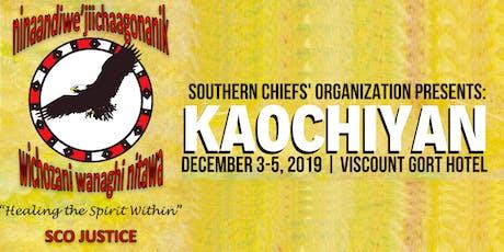 Kaochiyan - Reintegration Conference & Gathering tickets