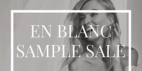 En Blanc Bridal Gown Sample Sale tickets