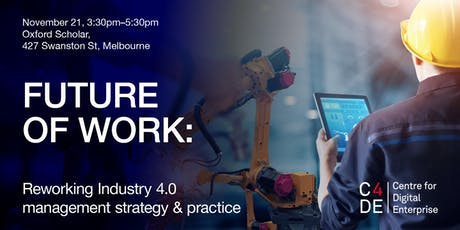 FUTURE OF WORK: Reworking Industry 4.0 management strategy & practice tickets