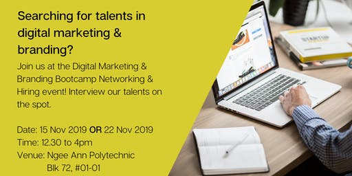 Digital Marketing Bootcamp Networking & Hiring Event
