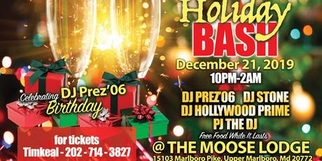 5th Annual Holiday Bash! tickets