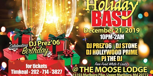 5th Annual Holiday Bash!