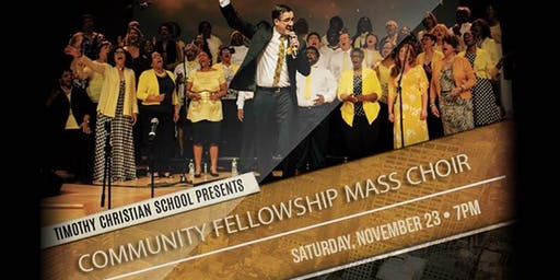 Benefit Concert with the Community Fellowship Mass Choir