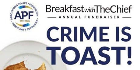 Crime is Toast - Breakfast with the Chief 2020 tickets