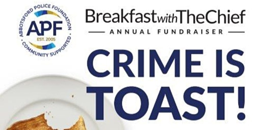 Crime is Toast - Breakfast with the Chief 2020