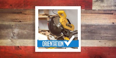 Woodshop Orientation (Band saw, miter saw, planer)