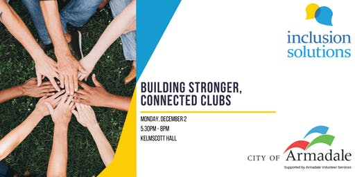 Building Stronger, Connected Clubs Workshop