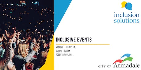 Inclusive Events Workshop tickets