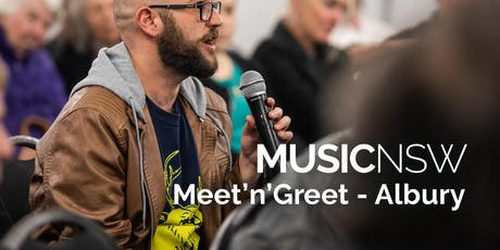 MusicNSW Meet'n'Greet - Albury tickets