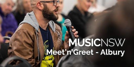 MusicNSW Meet'n'Greet - Albury