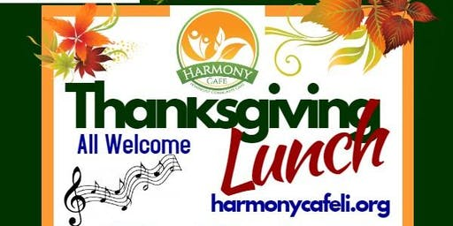 Thanksgiving Lunch in Harmony