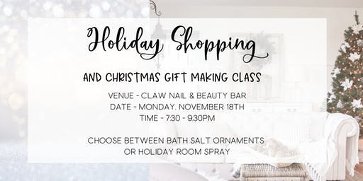 doTERRA Holiday Shopping & DIY Gift Class