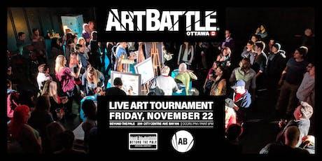 Art Battle Ottawa - November 22, 2019 tickets