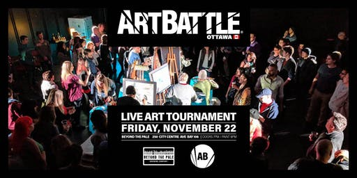 Art Battle Ottawa - November 22, 2019