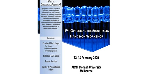 OptogeneticsAustralia Hands-On Workshop 2020 (13-14 February 2020)