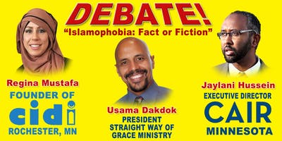 "DEBATE!  ""Islamophobia:Fact or Fiction"""
