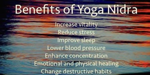 Yoga Nidra; A Evening of Self Care