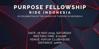 PURPOSE Fellowship Ride Indonesia