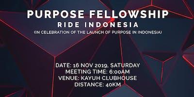 PURPOSE Fellowship Ride Indonesia